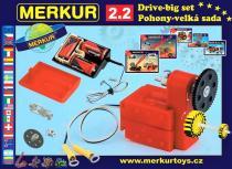 Merkur 2.2 elektromotorek - pohony a převody,velká sada