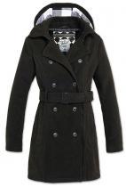 Brandit Girls Coat Long černý
