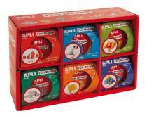 APLI Modelovací hmota APLI Fun Dough (12x28g)