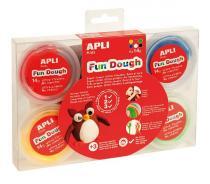 APLI Modelovací hmota APLI Fun Dough (6x14g)