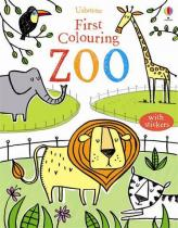 Usborne First Colouring Book Zoo