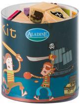 Aladine Dřevěná razítka Piráti