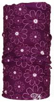 4Fun multifunkční šátek flower viola