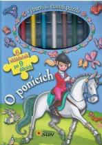 Pemic Vybarvi si vlastní puzzle: O ponících