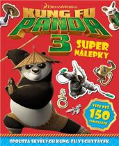Pemic Kung Fu Panda 3 Super nálepky