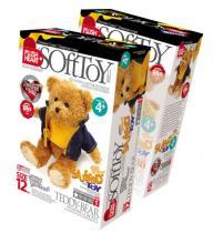 Elfmarket Vyrob si plyšový medvídek Teddy Stuffed