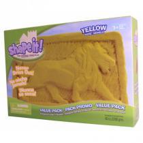 WABA fun SHAPE IT! Modelovací písek 2,27 kg žlutá