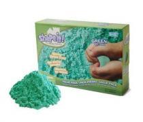 WABA fun SHAPE IT! Modelovací písek 2,27 kg zelená