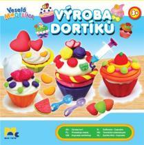 Mac Toys Veselá modelína Výroba dortíků