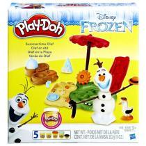 Play-Doh Frozen Ledové království Olaf na pláži