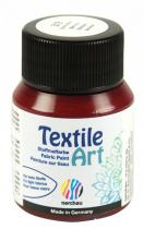 Nerchau Barva na textil Textile Art 59 ml bordó