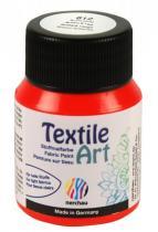Nerchau Barva na textil Textile Art 59 ml brilantní červená
