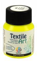 Nerchau Barva na textil Textile Art 59 ml brilantní žlutá