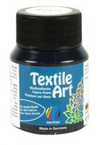 Nerchau Barva na textil Textile Art 59 ml černá