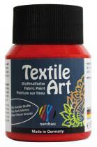 Nerchau Barva na textil Textile Art 59 ml červená
