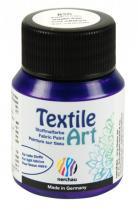 Nerchau Barva na textil Textile Art 59 ml fialová metalíza