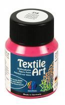 Nerchau Barva na textil Textile Art 59 ml malinová