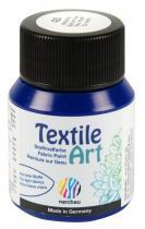 Nerchau Barva na textil Textile Art 59 ml modrá