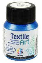 Nerchau Barva na textil Textile Art 59 ml modrá metalíza