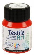 Nerchau Barva na textil Textile Art 59 ml šarlatově rudá