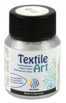 Nerchau Barva na textil Textile Art 59 ml stříbrná