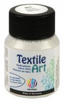 Nerchau Barva na textil Textile Art 59 ml stříbrná perleť