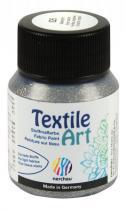Nerchau Barva na textil Textile Art 59 ml stříbrný glitr
