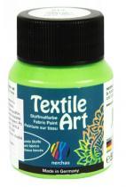 Nerchau Barva na textil Textile Art 59 ml světle zelená