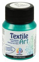 Nerchau Barva na textil Textile Art 59 ml zelená metalíza