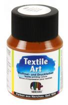 Nerchau Barva na textil Textile Art 59 ml zlatá okr