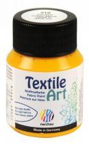 Nerchau Barva na textil Textile Art 59 ml zlatožlutá