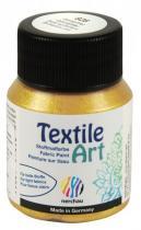 Nerchau Barva na textil Textile Art 59 ml zlatý glitr