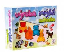 Deti Art Výroba mýdel Zvířata