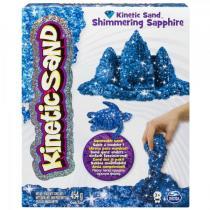 Kinetic Sand Třpytivý písek modrá 454g