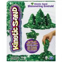 Kinetic Sand Třpytivý písek zelená 454g