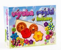 Deti Art Výroba mýdel Květiny