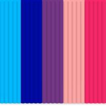 3Doodler Mix color PLA BubbleGum