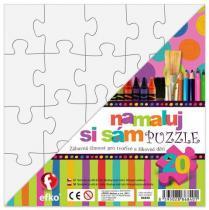 Efko Namaluj si sám puzzle čtverec 20 dílků