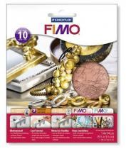 FIMO kovové plátky měděný 10 ks