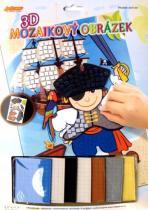 ARTLOVER 3D Mozaikový obrázek Pirát