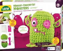 LENA Pletací monster grumpy