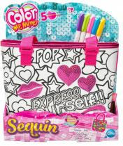 Color Me Mine Sequin Tote kabelka