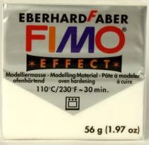 FIMO soft 56g 052 metalická bílá