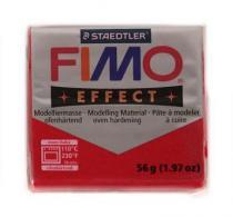 FIMO soft 56g 202 třpytivý efekt červená