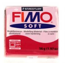FIMO soft 56g 26 červená třešeň