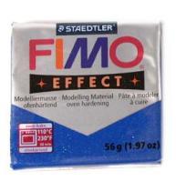 FIMO soft 56g 302 třpytivý efekt modrá