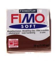 FIMO soft 56g 75 tmavě hnědá (čokoládová)