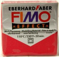 FIMO soft 57g 28 metalická rubínová