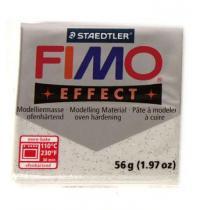FIMO soft 57g 812 třpytivý efekt stříbrná