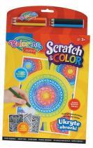 Colorino Omalovánky Scratch & Color